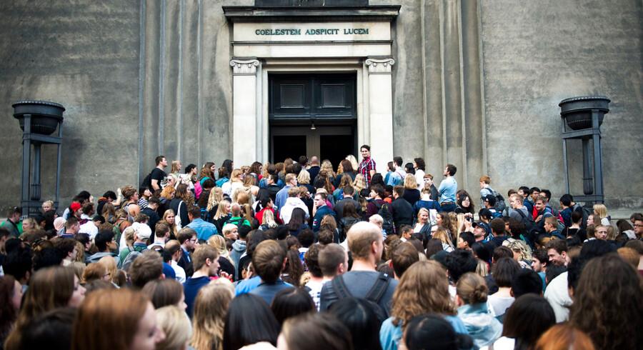 RB plus. Arkivfoto. Ansøgere til landets videregående uddannelser kan i dag se, om de er kommet ind. 336 uddannelser har stadig ledige pladser. Berlingske har samlet overblikket. (Foto: Ólafur Steinar Gestsson/Scanpix 2016)