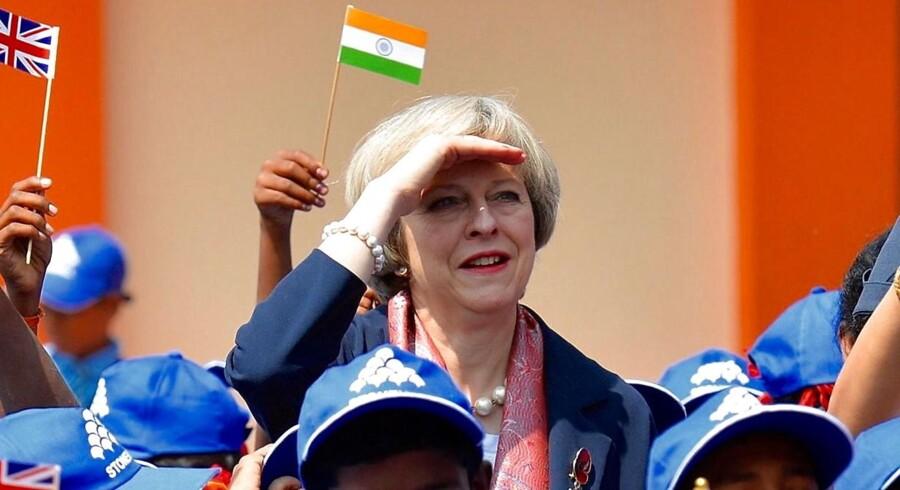 ARKIVFOTO: Theresa May, premierminister