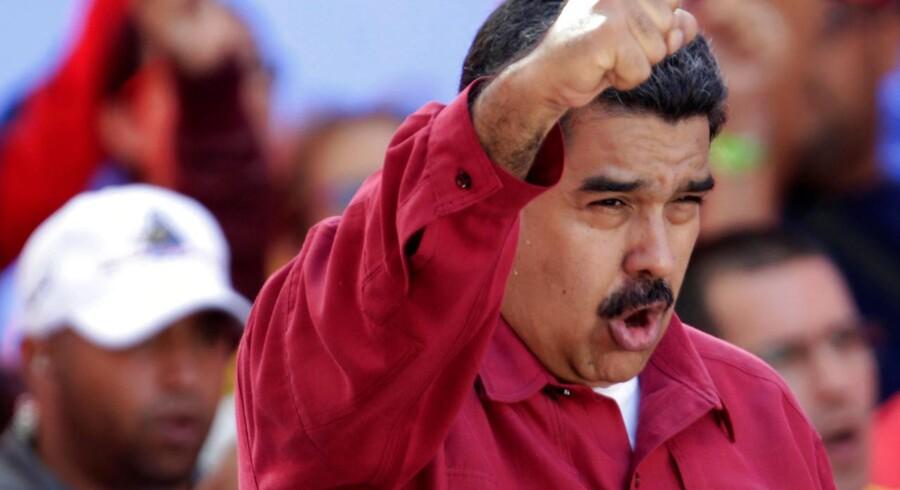 Venezuelas præsident, Nicolas Maduro.