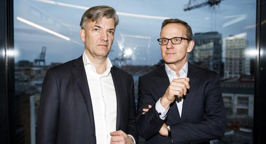 Portræt af PFA-chef Allan Pollack og Arthur Rakowski, Vice Chairman.