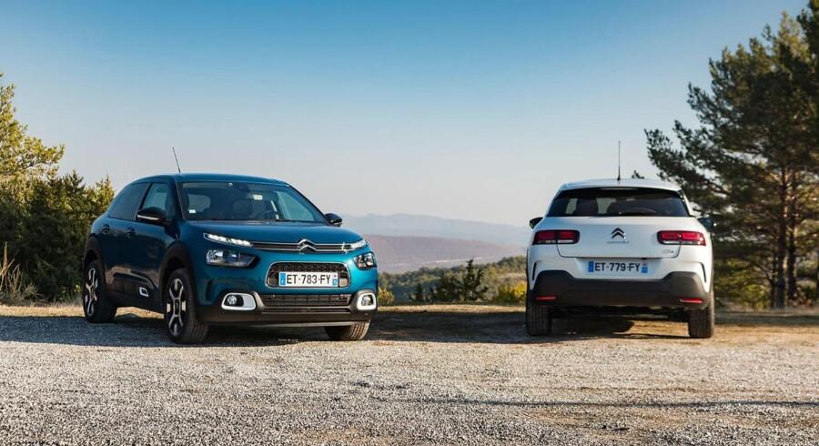 Citroën positionerer nu ikke længere C4 Cactus som en mini-SUV, for det har franskmændene C3 Aircross til. Den faceliftede skal konkurrere med biler som VW Golf