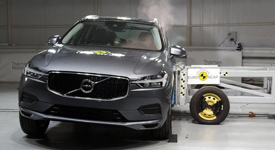 Volvo er kendt for sikkerhed, og den seneste crash- og sikkerhedstest hos Euro NCAP underbygger bare den gode historie. XC60 bliver udråbt som bilen med bedst allround-sikkerhed i 2017