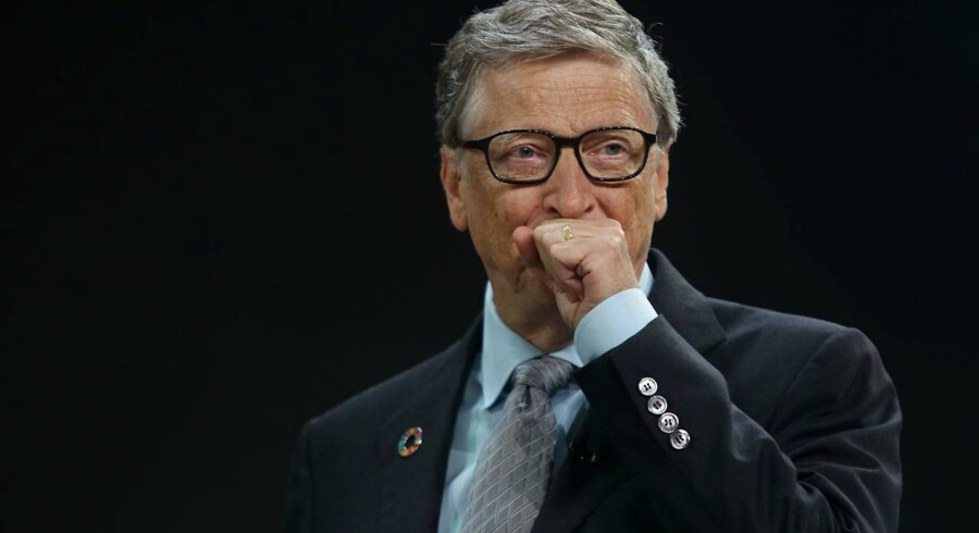 Selv Bill Gates har udskiftet sin Windows-telefon. Arkivfoto: Yana Paskova, Getty Images/AFP/Scanpix