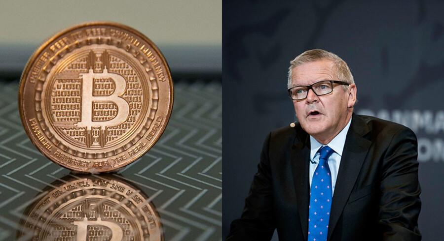 Bitcoin og Nationalbankens direktør, Lars Rohde.