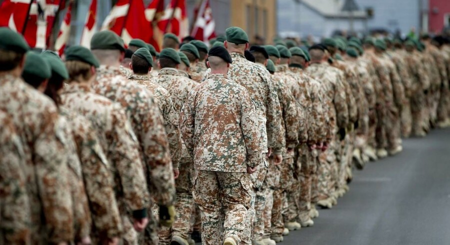Arkivfoto: Parade for hjemvente soldater fra Afghanistan.