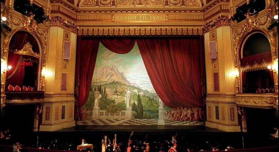 Arkivfoto. Det Kongelige Teater uddelte sidste år fribilletter for seks millioner kroner - svarende til 18.985 billetter.