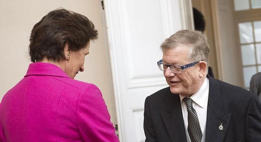 Israels ambassadør i Danmark, Barukh Binah (tv.). Arkivfoto: Keld Navntoft / Scanpix 2013 Foto: Keld Navntoft / Scanpix 2013