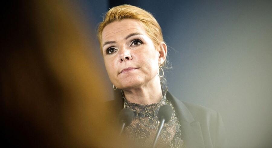 Arkivfoto. Inger Støjberg nægter at ændre på udlændingepolitikken trods kritik fra Europarådets racismekomité.
