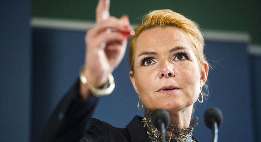 Udlændinge- og integrationsminister Inger Støjberg afviser helt og holdent kritikken mod Danmark. (Foto: Ólafur Steinar Gestsson/Scanpix 2016)