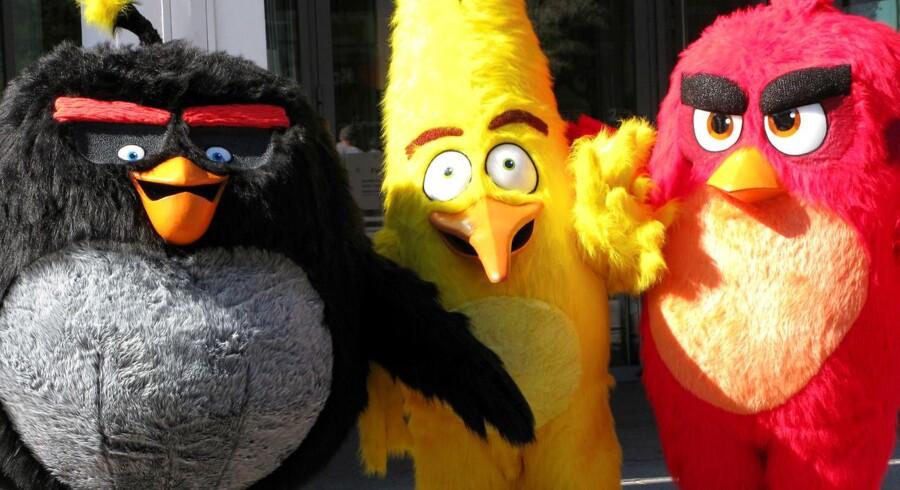 Arkivfoto. Selskabet bag mobilspillet Angry Birds, Rovio Entertainment, er parat til at angribe børsen i Helsinki.