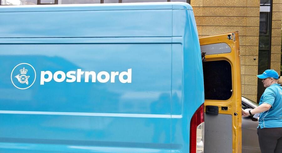 PostNord er på vej til at løbe tør for penge, og det kræver en handlingsplan nu. Det siger centrale kilder til Berlingske. (Foto: Henning Bagger/Scanpix 2017)