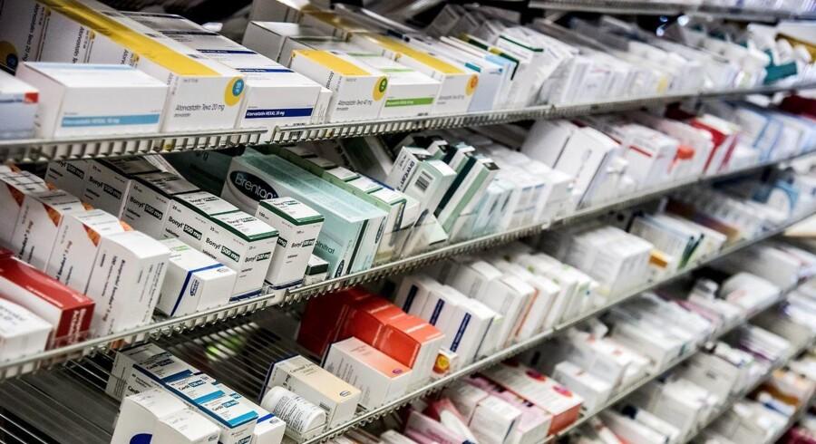 Læger i Region Midtjylland udskrev 487 recepter på antibiotika per 1000 indbyggere i 2016 og var dermed de mest tilbageholdende.