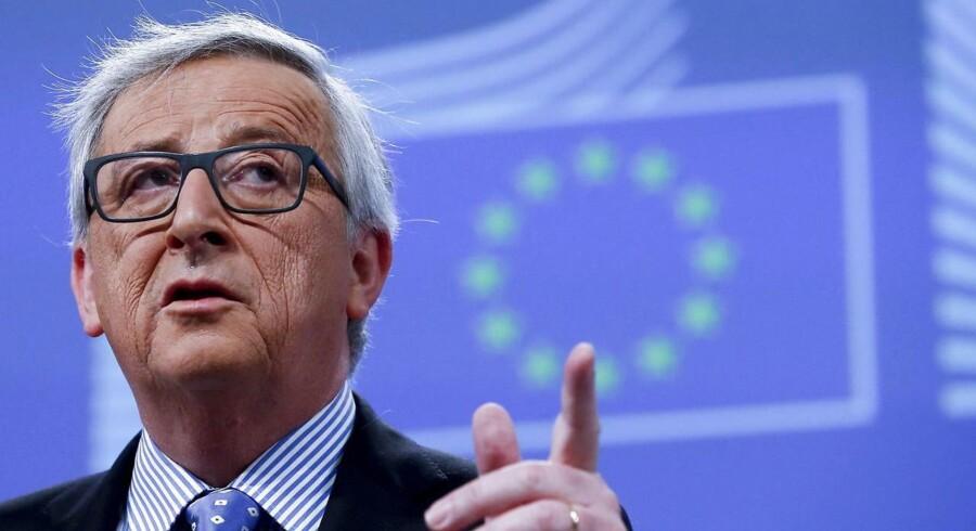EU-Kommissionens formand Jean-Claude Juncker.