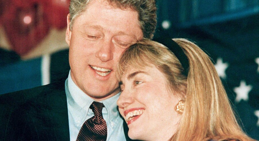 The Clintons »way back when« i 1992.