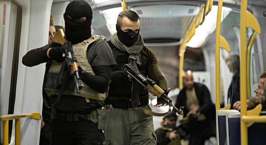 En kidnapning i metroen er udgangspunkt for TV-serien »Kidnapningen«. Foto Christian Geisnæs/Discovery Networks Danmark