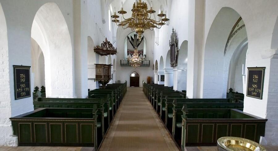 Vestervig Kirke. Danmarks størst landsbykirke. Foto: Henning Bagger