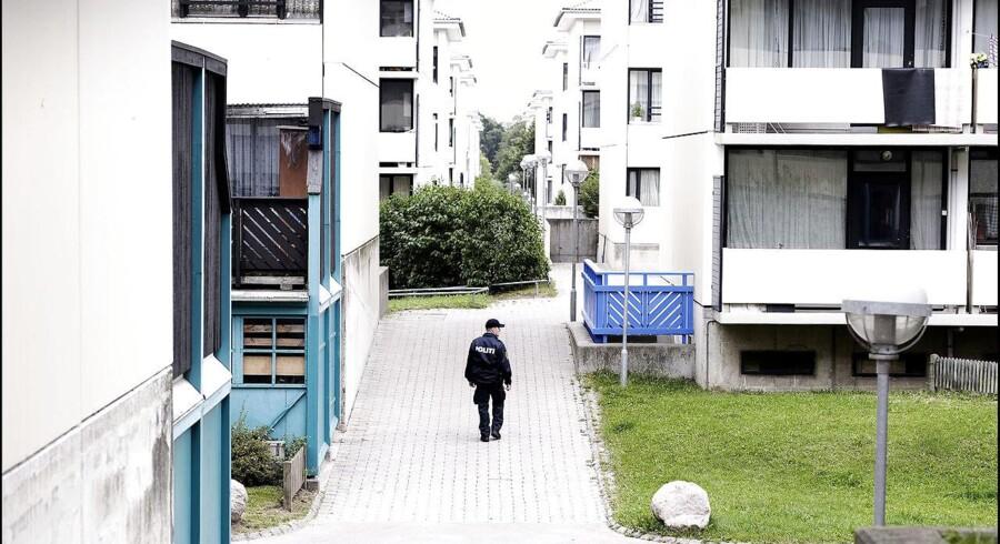 Taastrupgaard - her forsøger kommunen at rive nogle af boligblokkene ned.