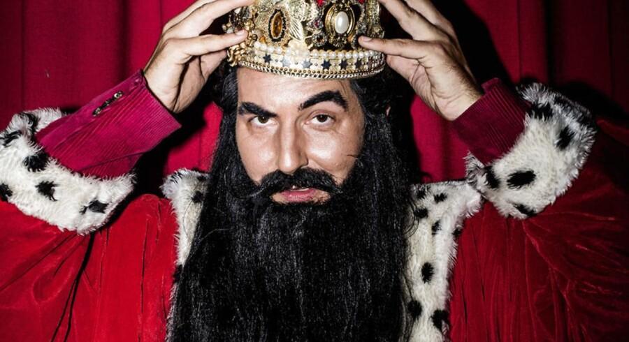 Hvis skæg er fyldt med bakterier, er der én person, der har et større problem end alle andre: Hr. Skæg. Arkivfoto.