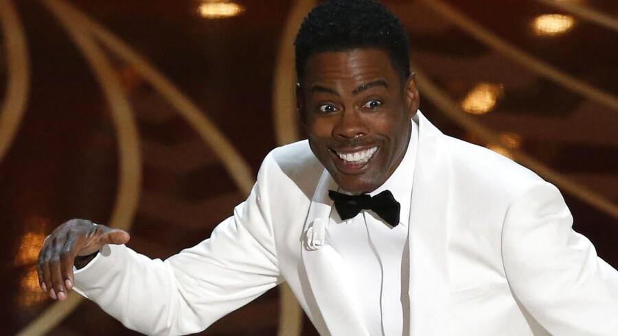Chris Rock som vært ved Oscar-showet - levede fuldt op til forventningerne om at addressere spørgsmålet om racer og Hollywood.