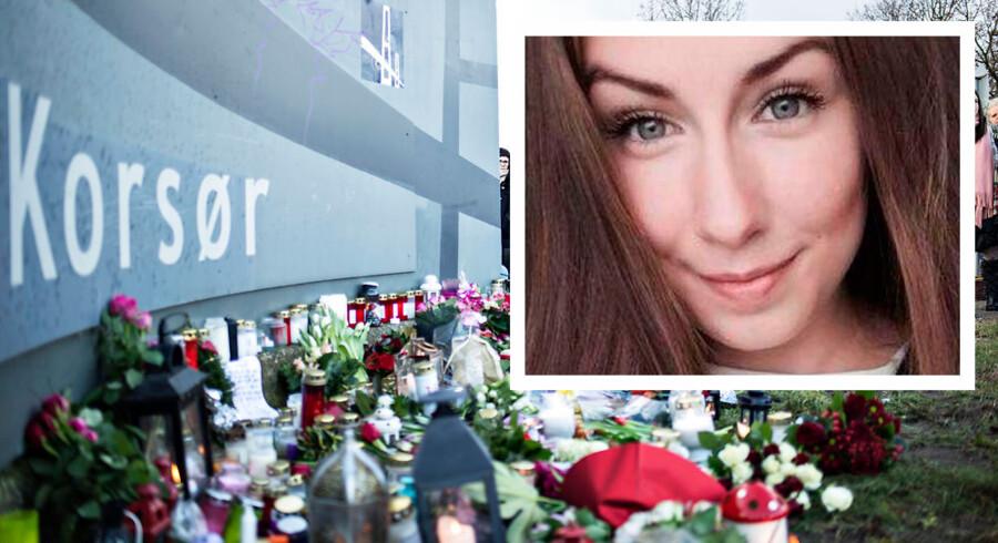 Emilie Meng blev fundet dræbt juleaftensdag i en sø ved Regnemarks Bakke i Borup.