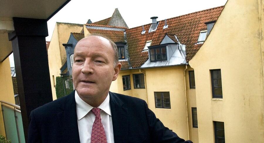 Ejendomsmatadoren Mikael Goldschmidt (foto) har opbygget milliardkoncernen Goldschmidt Holding, som sønnen Daniel Goldschmidt sidder i bestyrelsen for som familiens repræsentant. Daniel Goldschmidt har mindre held med sine forretninger end sin far, idet hans IT-selskab Confero er begæret konkurs. Arkivfoto: Morten Juhl/Scanpix