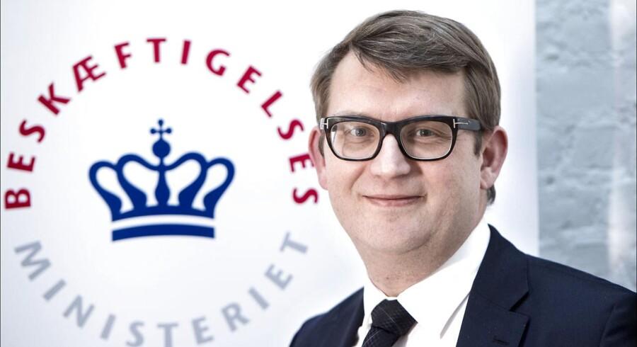 Troels Lund Poulsen. Beskæftigelsesminister (Foto: Jens Nørgaard Larsen/Scanpix 2017)