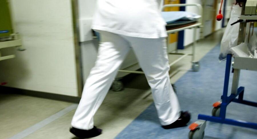 Arkivfoto. Sjællands Universitetshospital har brugt for mange penge i år. Patienters operationer udskydes til 2018.