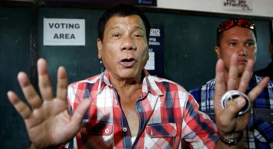 En række kontroversielle udtalelser har fået flere til at sammenligne Rodrigo Duterte med Donald Trump.