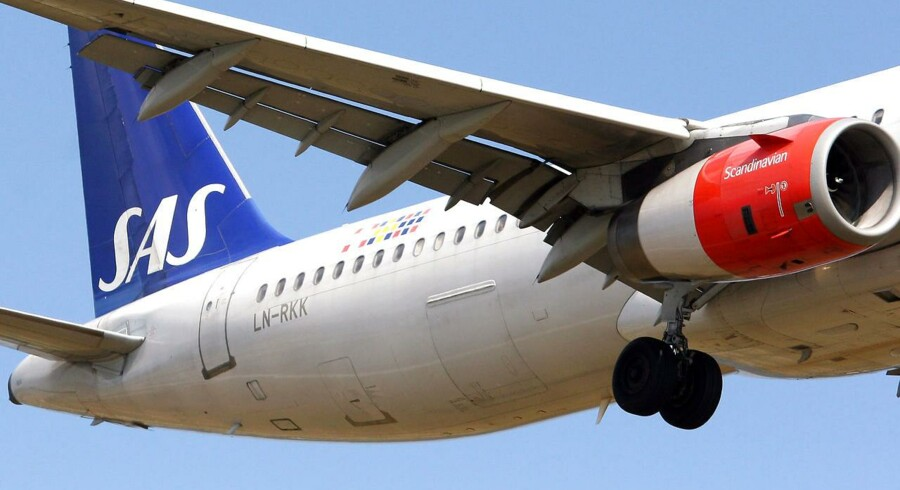 SAS er en af de vestlige flyselskaber, som kan blive ramt af et russisk flyveforbud