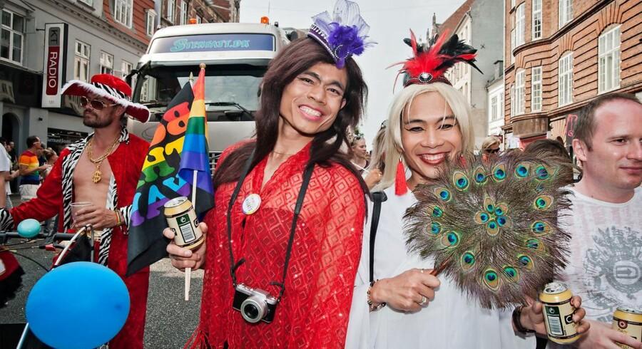 Vi har spurgt en politiker, en erhvervssponsor og to af de optrædende, hvorfor de har valgt at støtte Copenhagen Pride. (Foto: Anders Jung)