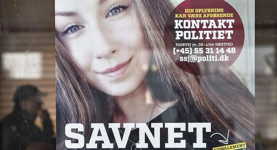 Emilie Mengs forsvinden har ikke kun ført til efterlysning og efterforskning fra politiets side. Mange private har forsøgt sig med egne teorier og egen efterforskning. Foto: Jens Nørgaard Larsen