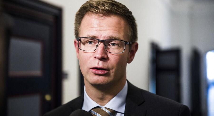 Finansordfører for Socialdemokratiet Benny Engelbrecht er ikke fortaler for at sætte den nuværende selskabsskat ned.