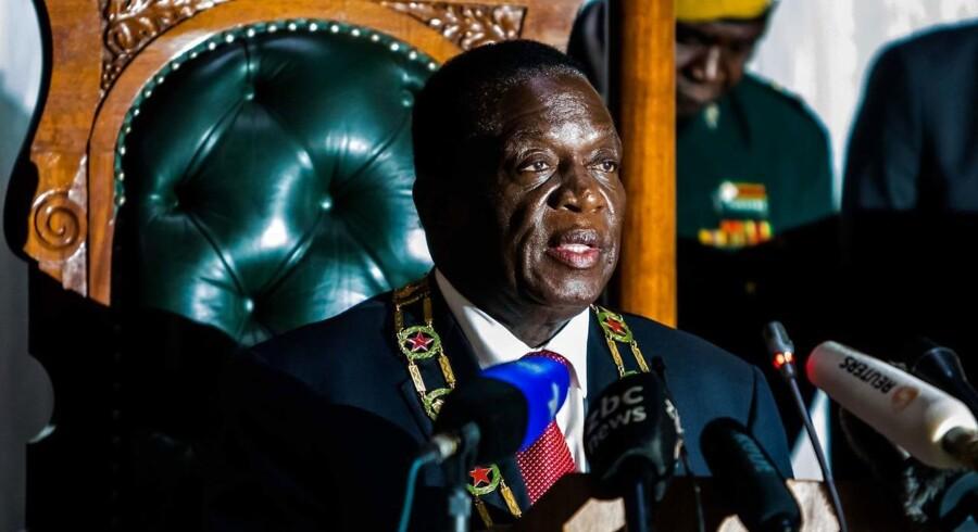 Emmerson Mnangagwa, Zimbabwes nuværende præsident.