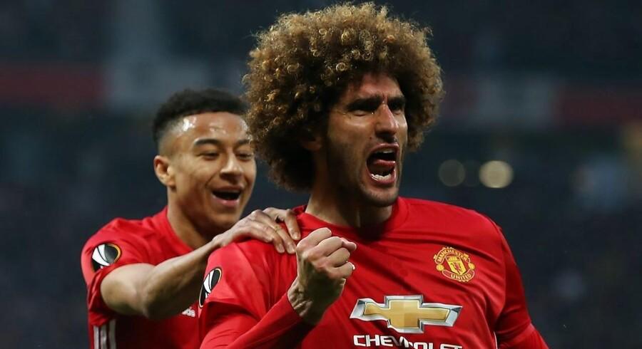 Arkivfoto. Fodboldklubben Manchester United har fået flere penge i kassen fra tv-indtægter, sponsoraftaler og salg af merchandise, men indtægterne er ikke vokset i samme fart som omkostningerne, og derfor havde klubben minus på bundlinjen i tredje kvartal.