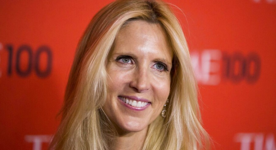 rkivfoto af journalist Ann Coulter, der ankommer til Time-galla.