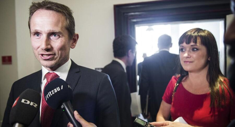 Arkivfoto: Venstres næstformand, finansminister Kristian Jensen, har et ansvar. Det samme har andre Venstre-skatteministre fra sidst, Venstre var i regering.