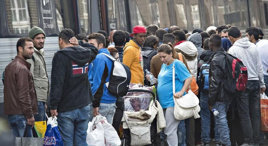 Rigspolitiet kan ikke forklare et fald i antallet af sigtelser mod asylansøgere.