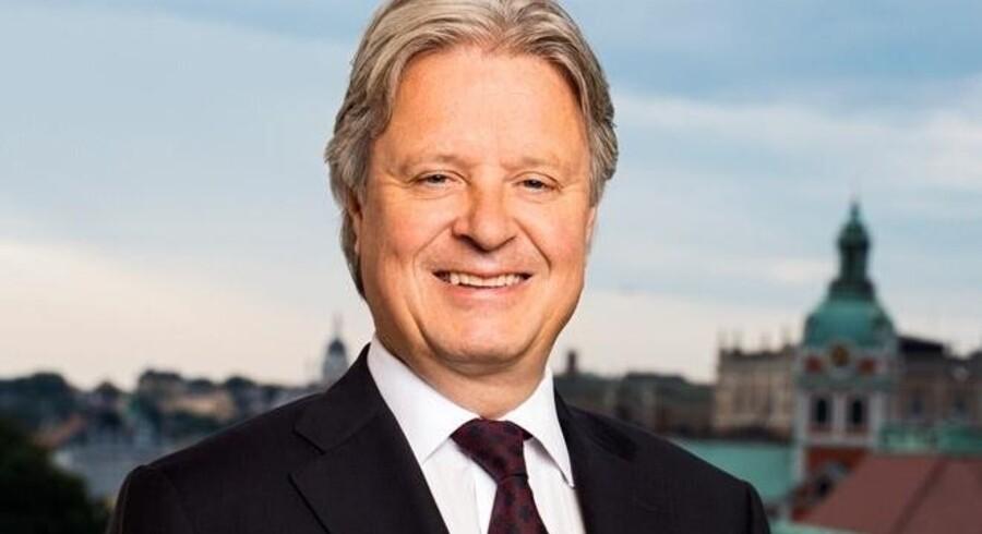 Nordeas øverste chef, Casper von Koskull, har måttet forsvare banken i en stribe møgsager de seneste måneder. Nu har banken mistet Amnesty som kunde. (arkivfoto) Free/Nordea
