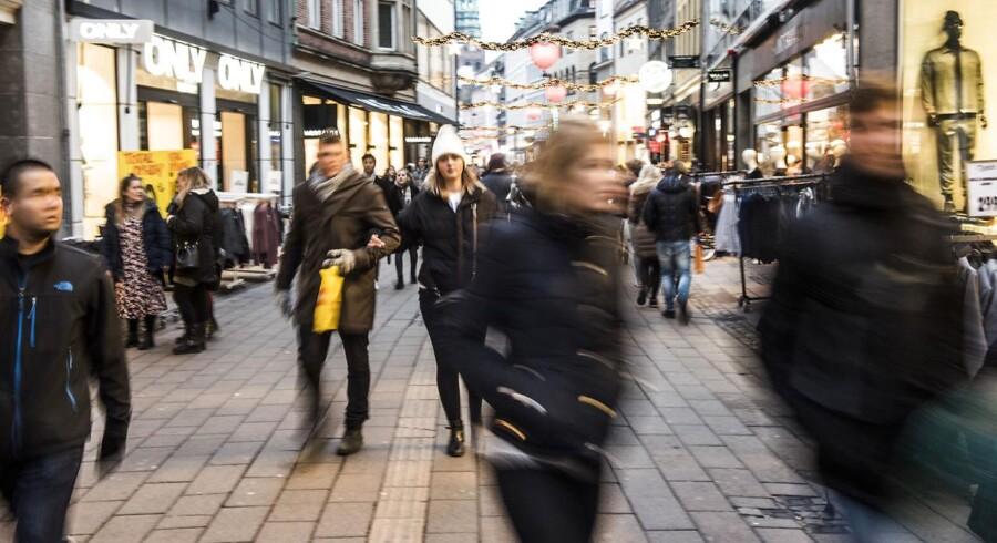 Arkivfoto. 23-årig mand blev stukket ned på Strøget i København en tidlig morgen i februar. To mænd er varetægtsfængslet.