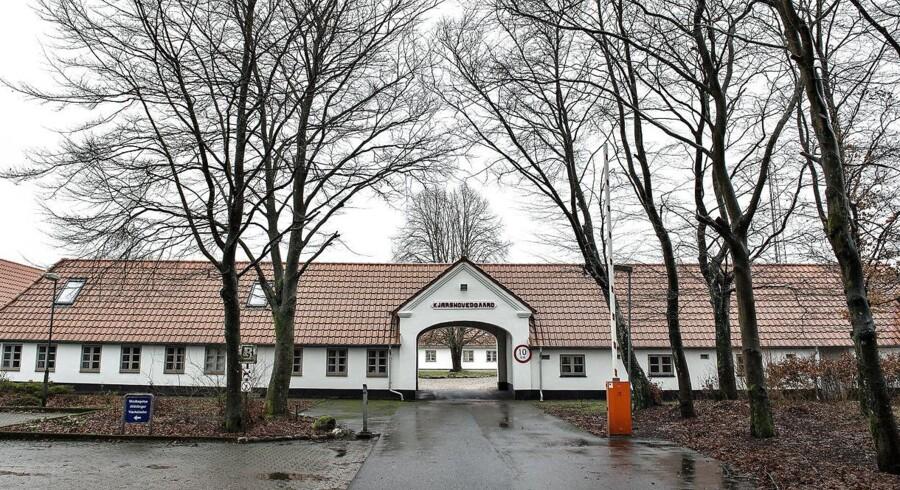 Det tidligere åbne fængsel Kærshovedgård udenfor Ikast skal huse afviste og udviste asylansøgere.