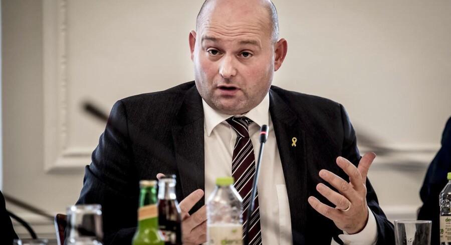 Justitsminister Søren Pape Poulsen (K) udtaler at tiggeri »ikke behøver skabe utryghed«.