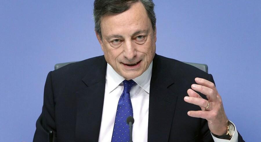 Den europæiske centralbankchef, Mario Draghi.
