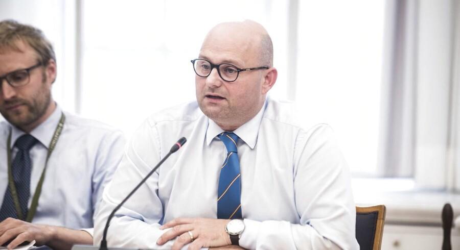 Søren Pape Poulsen kalder det en træls sag, at Højesteret sidste måned afviste at udlevere fire rumænere. (Foto: Ida Marie Odgaard/Scanpix 2017)