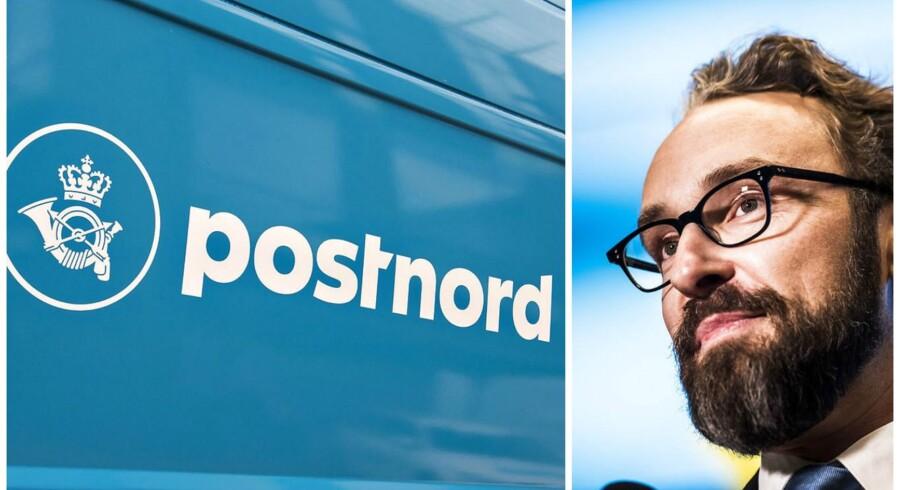 Postnord (Foto: Henning Bagger/Scanpix 2017)Ole Birk (Foto: Ólafur Steinar Gestsson/Scanpix 2016)