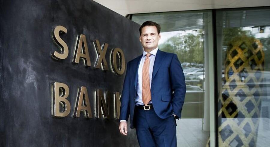 Direktør og medejer af Saxo Bank, Kim Fournais, glæder sig over at have fået kinesisk koncern og finsk forsikringsselskab ind som nye aktionærer i den danske bank.