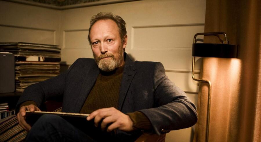 Portræt af skuespiller Lars Mikkelsen som er aktuel i den nye tv-serie »Herrens Veje«, hvor han spiller præst.