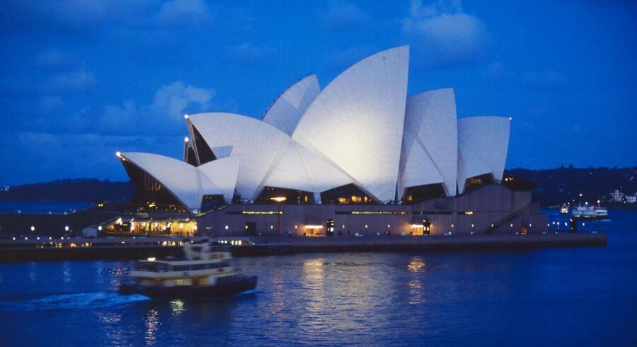 Arkivfoto. Ifølge Kim Herforth Nielsen har Jørn Utzons operahus i Sydney banet vejen for dansk design i Australien.