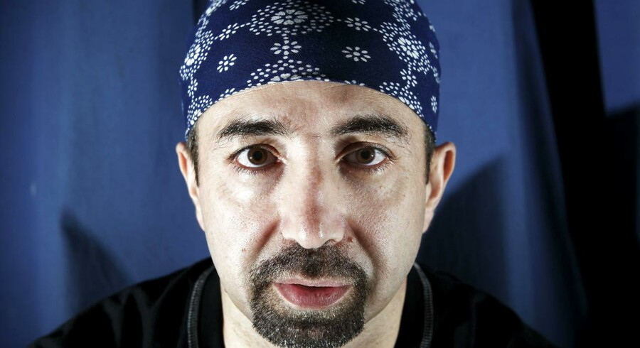 ARKIVFOTO: Bandeleder for den Internationale Klub, Danny Abdalla.