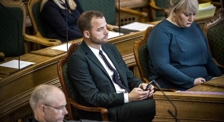 Det er positivt, at Løkke roser de fleste udlændinge, mener De Radikales partileder Morten Østergaard.