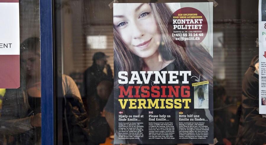 Arkivfoto: Retten i Næstved har besluttet at give offentligheden indsigt i de centrale dokumenter fra ransagningen på Tårnborgvej mandag i denne uge. Politiet fandt ikke noget med relation til Emilie Meng, og beboerne er derforblevet renset for mistanke.